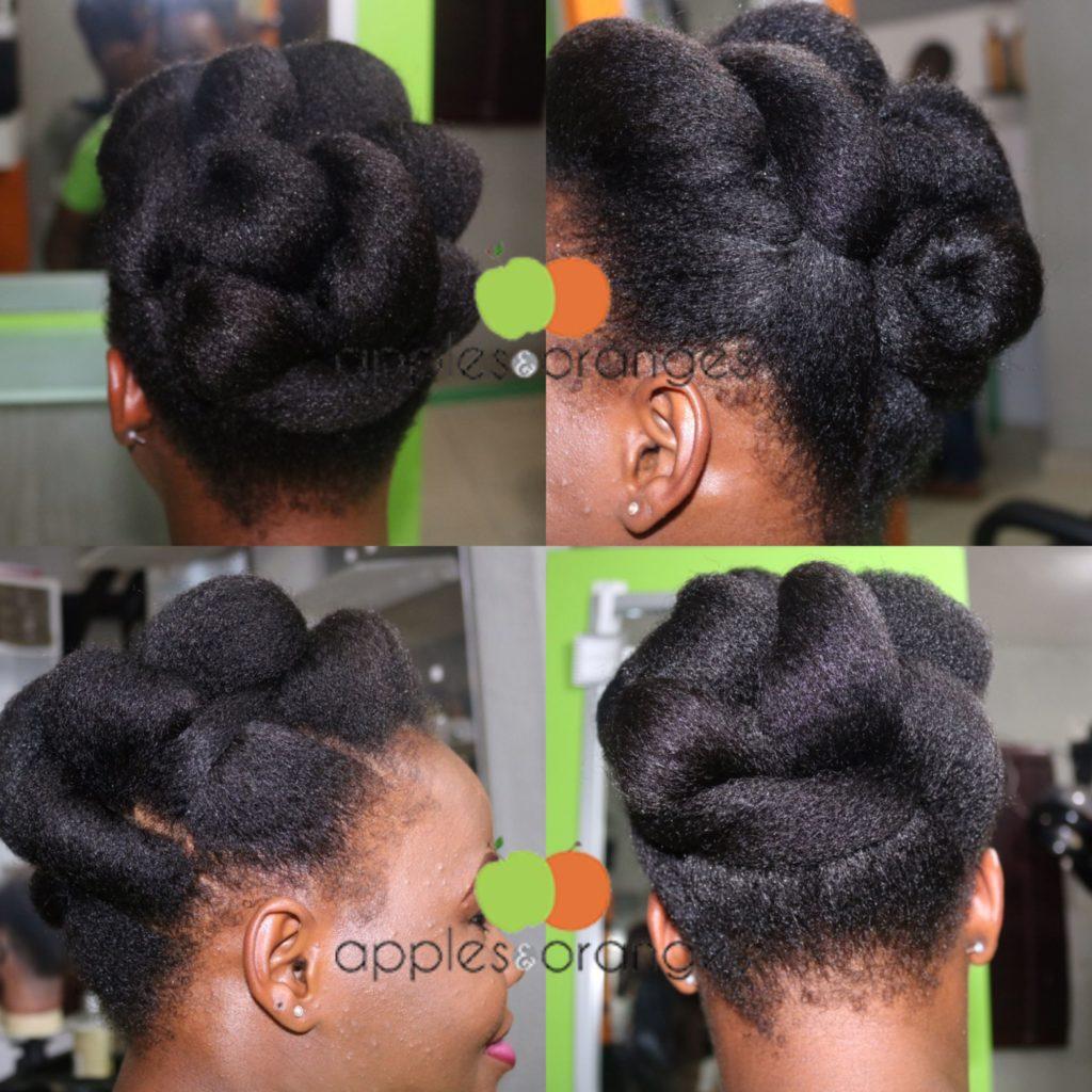 Natural Hair Salon Apples Oranges